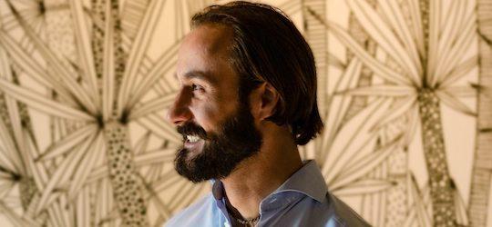 Portrait von Milan Uhe beim Podcast Happy New Work