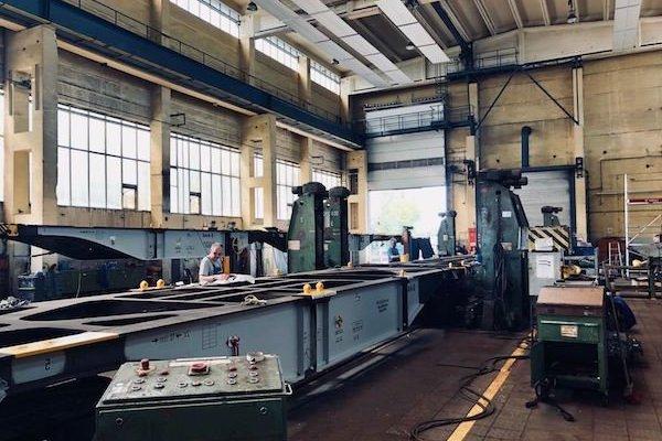 Produktionsbetrieb im Engineering
